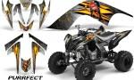 YAMAHA Raptor 700 CreatorX Graphics Kit Purrfect White BB 150x90 - Yamaha Raptor 700 2006-2012 Graphics
