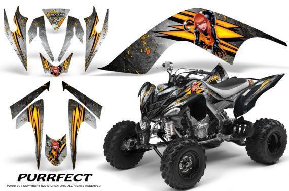 YAMAHA Raptor 700 CreatorX Graphics Kit Purrfect White BB 570x376 - Yamaha Raptor 700 2006-2012 Graphics