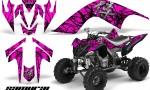 YAMAHA Raptor 700 CreatorX Graphics Kit Samurai Black Pink 150x90 - Yamaha Raptor 700 2006-2012 Graphics