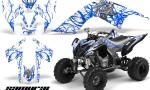 YAMAHA Raptor 700 CreatorX Graphics Kit Samurai Blue White 150x90 - Yamaha Raptor 700 2006-2012 Graphics
