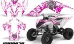 YAMAHA Raptor 700 CreatorX Graphics Kit Samurai Pink White 150x90 - Yamaha Raptor 700 2006-2012 Graphics