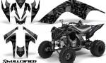 YAMAHA Raptor 700 CreatorX Graphics Kit Skullcified Black 150x90 - Yamaha Raptor 700 2006-2012 Graphics