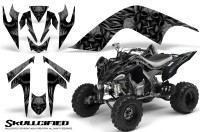 YAMAHA-Raptor-700-CreatorX-Graphics-Kit-Skullcified-Black