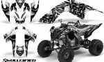 YAMAHA Raptor 700 CreatorX Graphics Kit Skullcified Silver 150x90 - Yamaha Raptor 700 2006-2012 Graphics