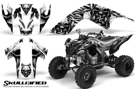 YAMAHA Raptor 700 CreatorX Graphics Kit Skullcified Silver 570x376 - Yamaha Raptor 700 2006-2012 Graphics