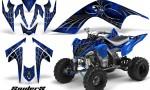 YAMAHA Raptor 700 CreatorX Graphics Kit SpiderX Blue 150x90 - Yamaha Raptor 700 2006-2012 Graphics