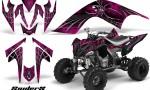 YAMAHA Raptor 700 CreatorX Graphics Kit SpiderX Pink 150x90 - Yamaha Raptor 700 2006-2012 Graphics