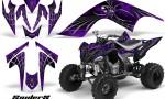 YAMAHA Raptor 700 CreatorX Graphics Kit SpiderX Purple 150x90 - Yamaha Raptor 700 2006-2012 Graphics