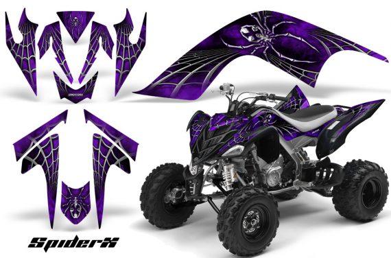 YAMAHA Raptor 700 CreatorX Graphics Kit SpiderX Purple 570x376 - Yamaha Raptor 700 2006-2012 Graphics