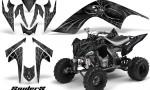 YAMAHA Raptor 700 CreatorX Graphics Kit SpiderX Silver 150x90 - Yamaha Raptor 700 2006-2012 Graphics