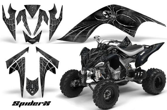 YAMAHA Raptor 700 CreatorX Graphics Kit SpiderX Silver 570x376 - Yamaha Raptor 700 2006-2012 Graphics