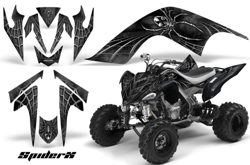YAMAHA-Raptor-700-CreatorX-Graphics-Kit-SpiderX-Silver