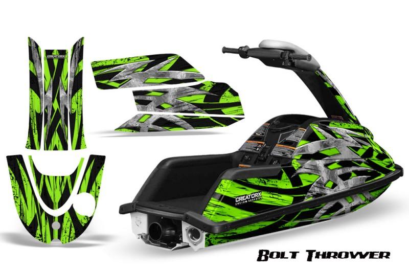 YAMAHA-SuperJet-CreatorX-Graphics-Kit-Bolt-Thrower-Green