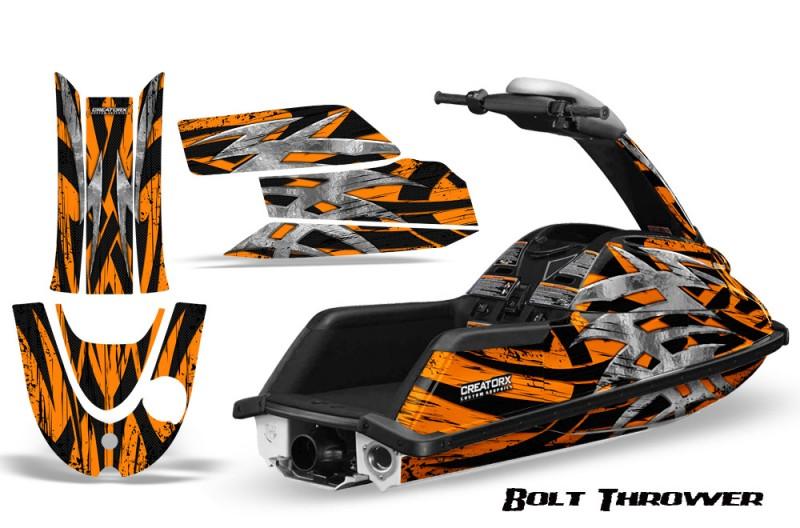 YAMAHA-SuperJet-CreatorX-Graphics-Kit-Bolt-Thrower-Orange