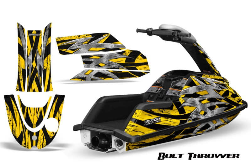 YAMAHA-SuperJet-CreatorX-Graphics-Kit-Bolt-Thrower-Yellow