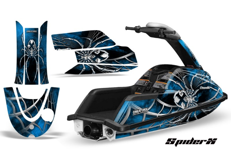 YAMAHA-SuperJet-CreatorX-Graphics-Kit-SpiderX-Blue-Lite