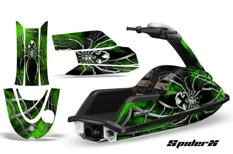 YAMAHA-SuperJet-CreatorX-Graphics-Kit-SpiderX-Green