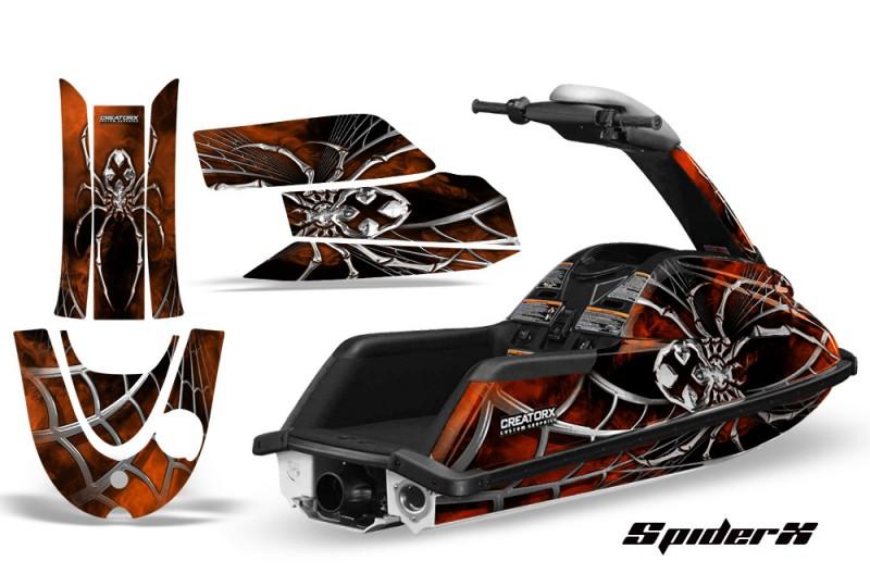 YAMAHA-SuperJet-CreatorX-Graphics-Kit-SpiderX-Orange