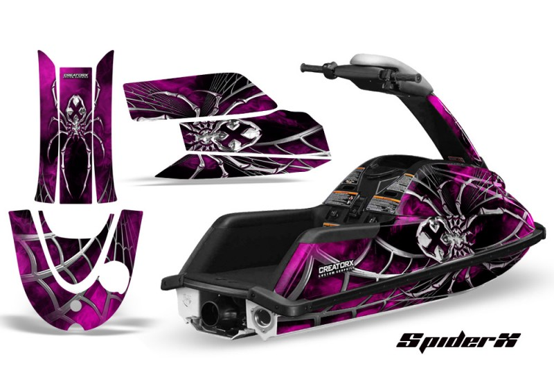 YAMAHA-SuperJet-CreatorX-Graphics-Kit-SpiderX-Pink