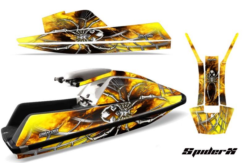 YAMAHA-SuperJet-Square-Nose-CreatorX-Graphics-Kit-SpiderX-Yellow