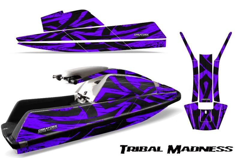 YAMAHA-SuperJet-Square-Nose-CreatorX-Graphics-Kit-Tribal-Madness-Purple