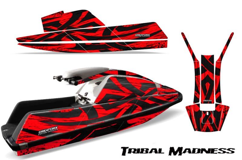YAMAHA-SuperJet-Square-Nose-CreatorX-Graphics-Kit-Tribal-Madness-Red