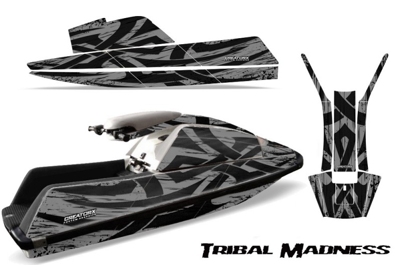 YAMAHA-SuperJet-Square-Nose-CreatorX-Graphics-Kit-Tribal-Madness-Silver