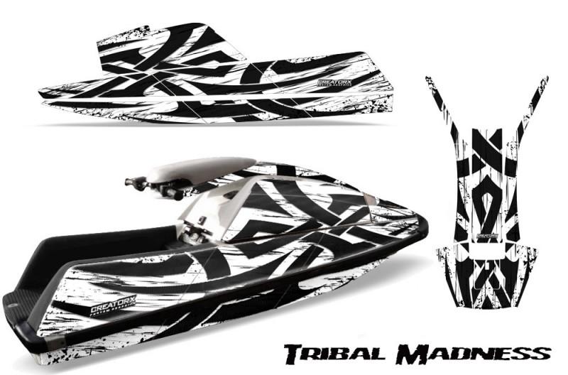 YAMAHA-SuperJet-Square-Nose-CreatorX-Graphics-Kit-Tribal-Madness-White