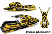 YAMAHA-SuperJet-Square-Nose-CreatorX-Graphics-Kit-Tribal-Madness-Yellow