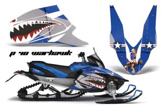 Yamaha Apex Snowmobile Graphics 2006-2011