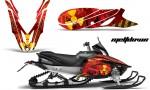 Yamaha Apex 2012 2013 AMR Graphics Kit Meltdown Y R 150x90 - Yamaha Apex Snowmobile 2011-2018 Graphics