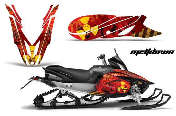 Yamaha Apex 2012 2013 AMR Graphics Kit Meltdown Y R 570x376 - Yamaha Apex Snowmobile 2011-2018 Graphics