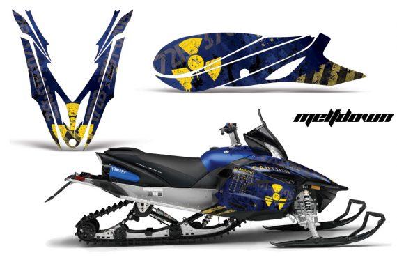 Yamaha Apex Snowmobile Graphics 2012-2014