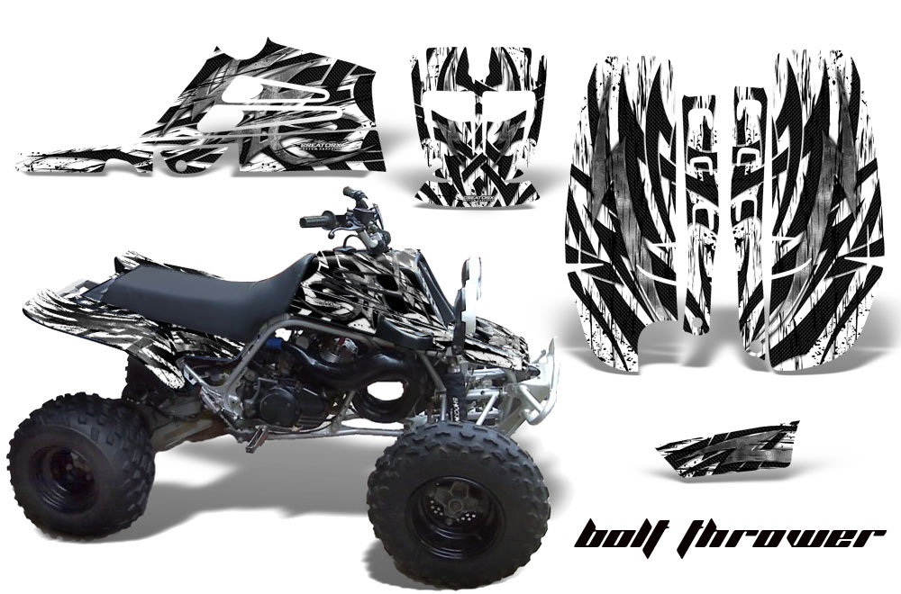 Kg Fp7 Kart Graphic Decal Kit For Faringpodsspoiler 325 besides Ktm Sx85105 Dirt Bike Motocross Graphic Kit 2004 2005 155 in addition Watch together with Yamaha Banshee 350 Graphics For Full Bore Plastics further 32777023327. on yamaha golf cart graphics