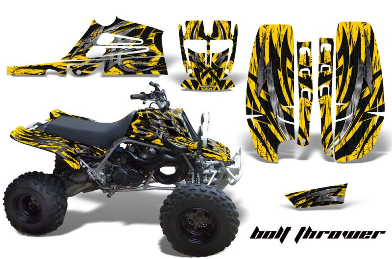 Yamaha-Banshee-Full-Bore-CreatorX-Graphic-Kit-Bolt-Thrower-Yellow-BB