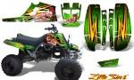 Yamaha Banshee Full Bore CreatorX Graphic Kit Little Sins Green 150x90 - Yamaha Banshee 350 Graphics for Full Bore Plastics