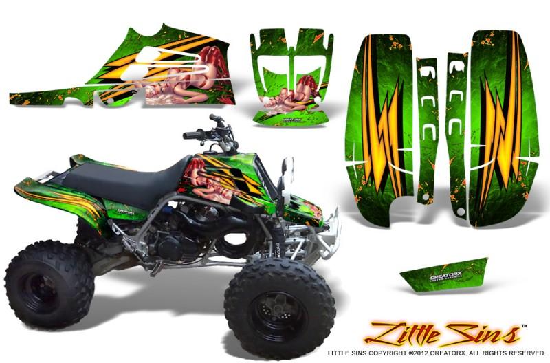 Yamaha-Banshee-Full-Bore-CreatorX-Graphic-Kit-Little-Sins-Green