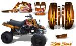 Yamaha Banshee Full Bore CreatorX Graphic Kit Little Sins Orange 150x90 - Yamaha Banshee 350 Graphics for Full Bore Plastics