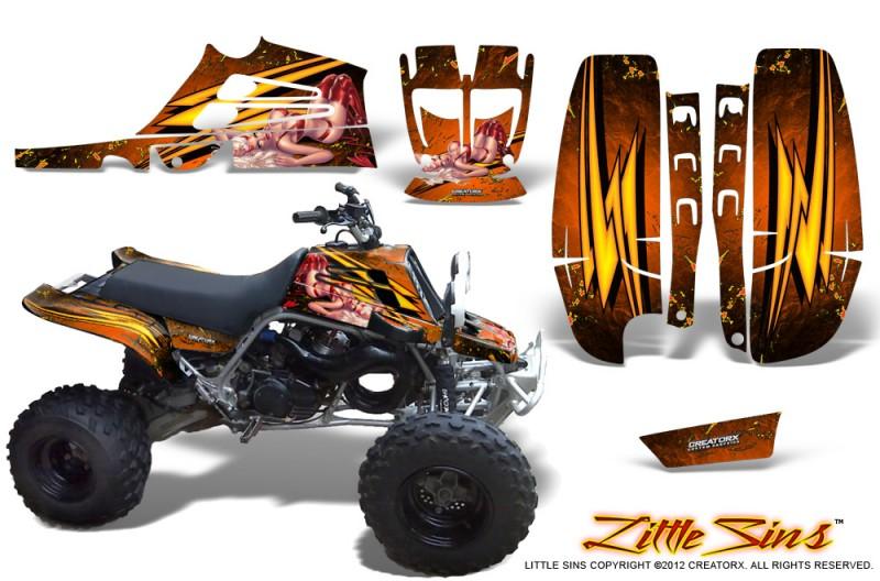 Yamaha-Banshee-Full-Bore-CreatorX-Graphic-Kit-Little-Sins-Orange