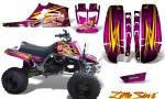 Yamaha Banshee Full Bore CreatorX Graphic Kit Little Sins Pink 150x90 - Yamaha Banshee 350 Graphics for Full Bore Plastics