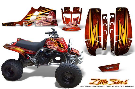 Yamaha Banshee Full Bore CreatorX Graphic Kit Little Sins Red 570x376 - Yamaha Banshee 350 Graphics for Full Bore Plastics