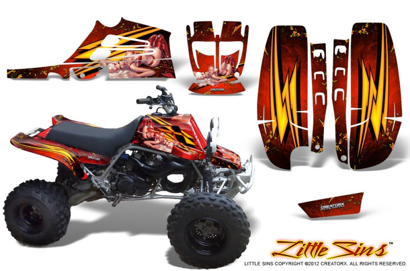 Yamaha-Banshee-Full-Bore-CreatorX-Graphic-Kit-Little-Sins-Red