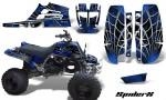 Yamaha Banshee Full Bore CreatorX Graphic Kit SpiderX Blue Black 150x90 - Yamaha Banshee 350 Graphics for Full Bore Plastics