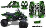 Yamaha Banshee Full Bore CreatorX Graphic Kit SpiderX Green Black 150x90 - Yamaha Banshee 350 Graphics for Full Bore Plastics