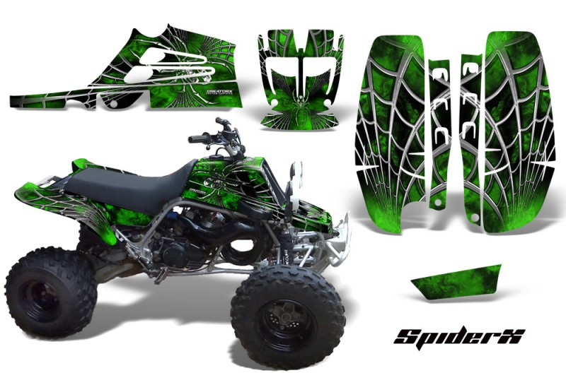 Yamaha-Banshee-Full-Bore-CreatorX-Graphic-Kit-SpiderX-Green-Black