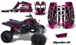 Yamaha Banshee Full Bore CreatorX Graphic Kit SpiderX Pink Black 150x90 - Yamaha Banshee 350 Graphics for Full Bore Plastics
