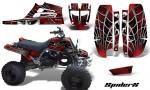 Yamaha Banshee Full Bore CreatorX Graphic Kit SpiderX Red Black 150x90 - Yamaha Banshee 350 Graphics for Full Bore Plastics
