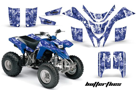 Yamaha Blaster AMR Graphics Kit Butterflies Blue 570x376 - Yamaha Blaster 200 YFS200 Graphics