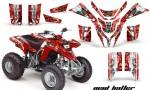 Yamaha Blaster AMR Graphics Kit MadHatter RedWhitestripe 150x90 - Yamaha Blaster 200 YFS200 Graphics