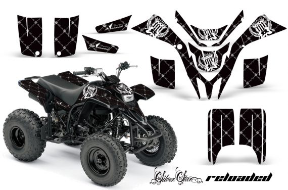 Yamaha Blaster AMR Graphics Kit Reloaded White BlackBG 570x376 - Yamaha Blaster 200 YFS200 Graphics
